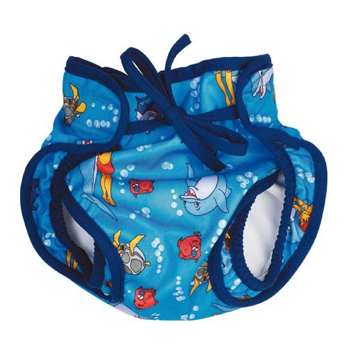 Zwemluier Lopaka Flipper, klittenband