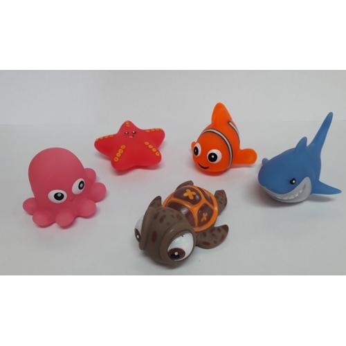 Bad figuur Ocean zeedieren