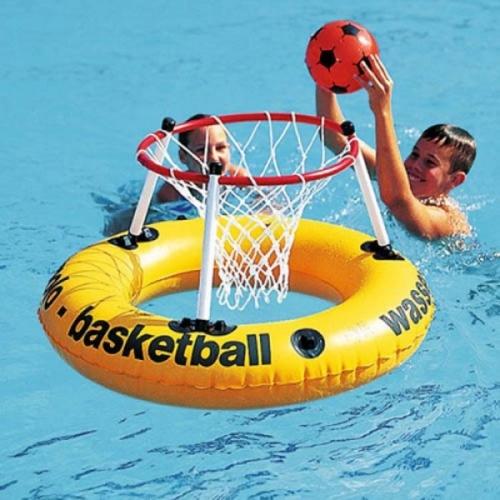 Waterbasket op drijvende band