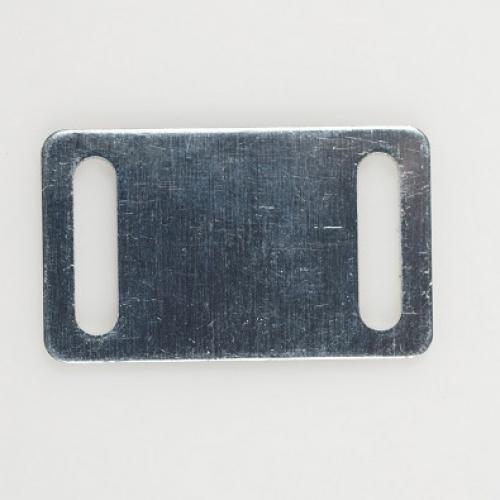 Aluminium nummerplaatje voor polsbandje
