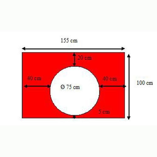 Duikscherm Model D