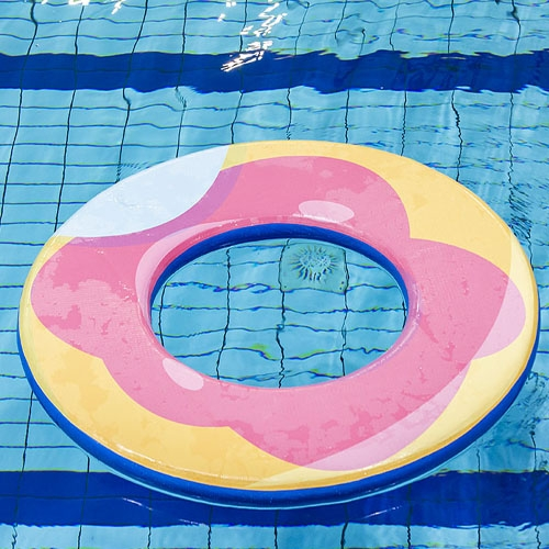Drijfmat Donut Ring