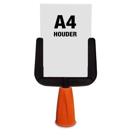 A4 Frame opzetstuk voor afzetkegels