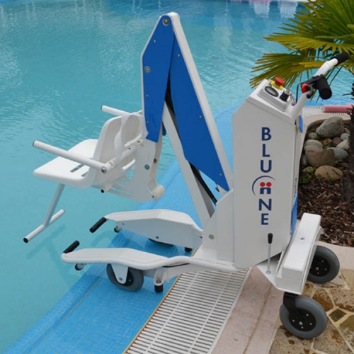 Bluone verrijdbare zwembadlift