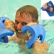 Aqua boxing gloves
