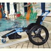Hippocampe zwembadrolstoel