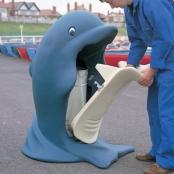 Afvalbak Splash dolfijn