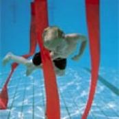 Onderwater slalom