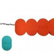 Zwemgordel 6 drijvers met logo/naam