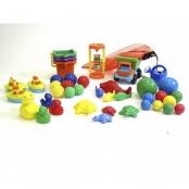 Baby speelset, 42 stuks baby speeltjes