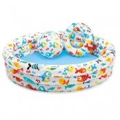 Zwembad set met bal en ring