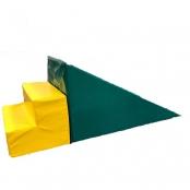 Glijbaan driehoek met trap