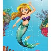 Aqua Game Puzzel Zeemeermin