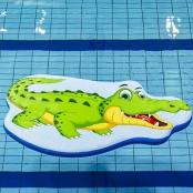 Drijfmat Krokodil