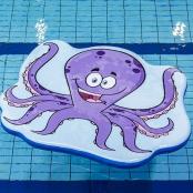 Drijfmat Octopus