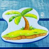 Drijfmat Palmboom