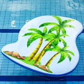 Drijfmat Palmbomen