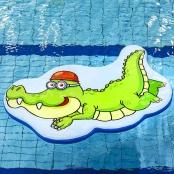 Drijfmat Krokodil 2