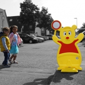 Houd afstand | Samen tegen Corona Traffic Teddy