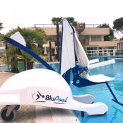 Blupool verrijdbare zwembadlift