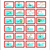 Zwemstuurkaarten ABC Diploma